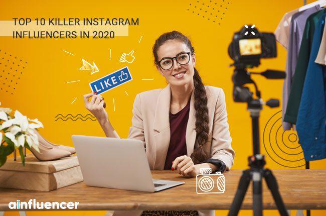 Top Killer Instagram influencers