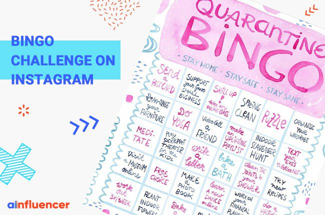 Bingo Challenge on Instagram