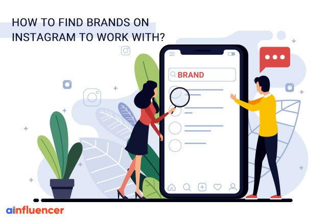find brands on Instagram to work with
