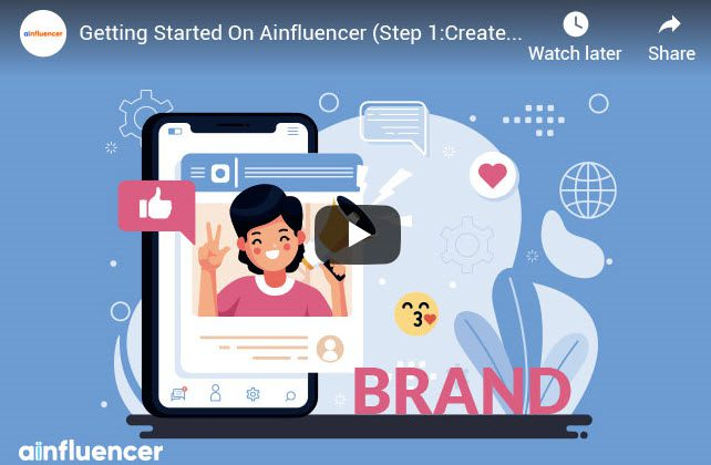getting started on Ainfluencer