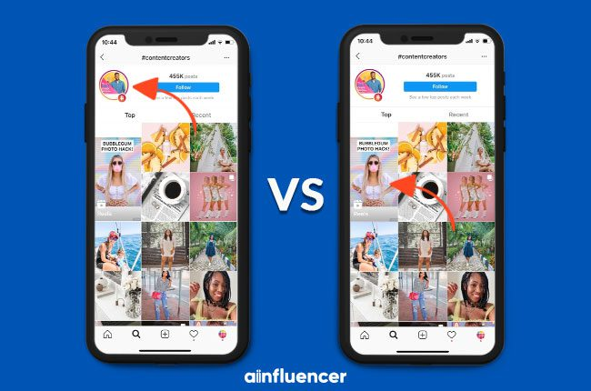 difference between Instagram Stories and Reels