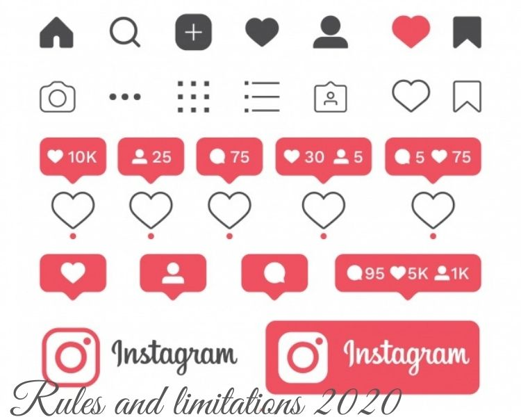 Instagram limitations and rules