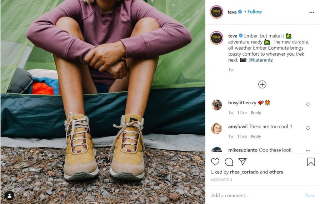 Create an Instagram carousel for user-generated content