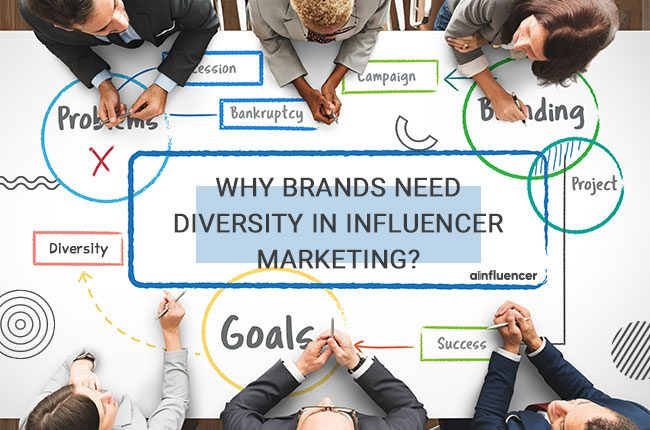 Brands Need Diversity in Influencer marketing