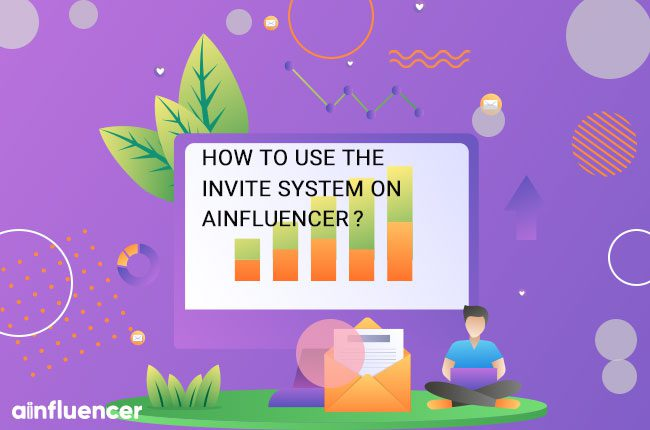 How to use the invite system on Ainfluencer