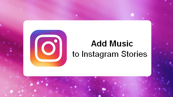 add music to Instagram issue