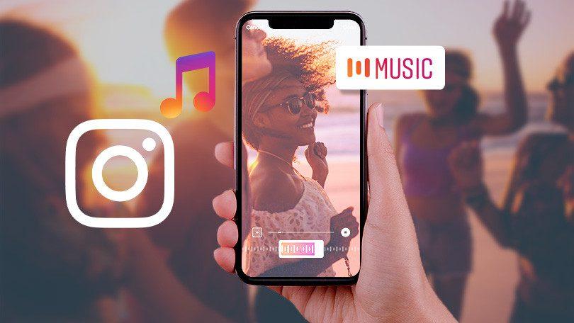 music sticker on Instagram