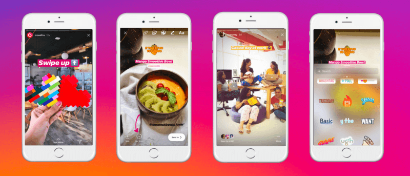 instagram story ad examples