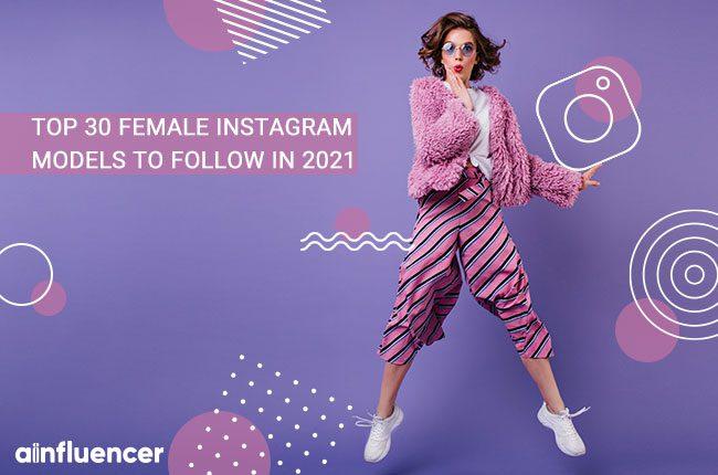 feamle Instagram models