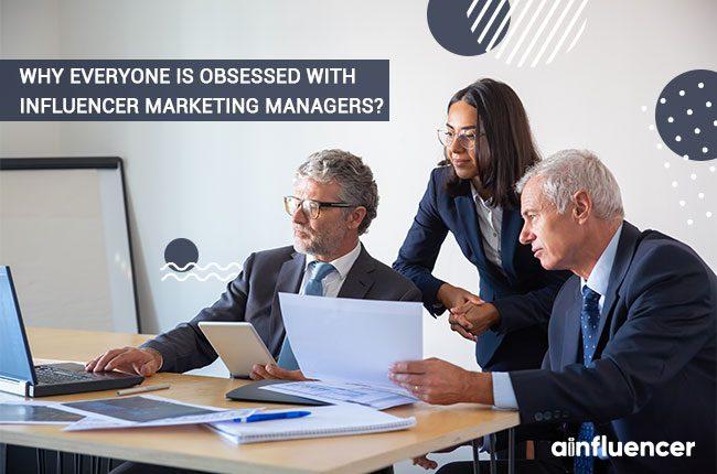 Influencer marketing manager