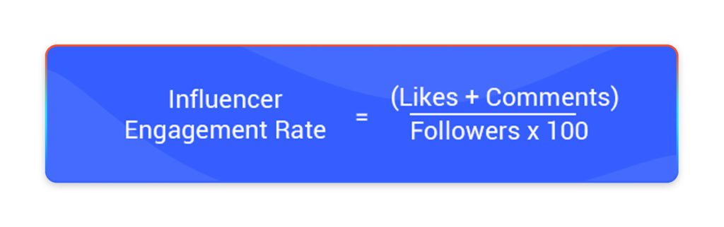 Using this formula, easily calculate Instagram engagement rate for all accounts.