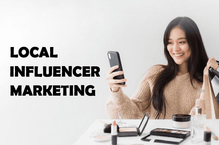 Local influencer marketing