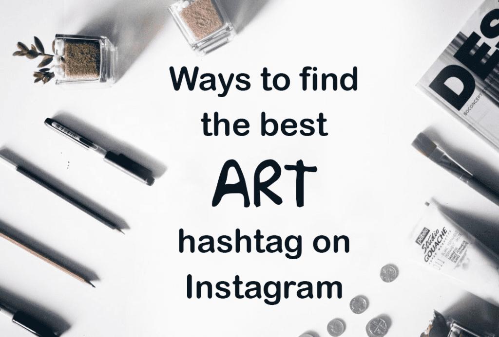 Art hashtags on Instagram