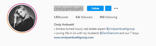 Cindy Ambuehl