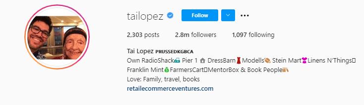 Tai Lopez